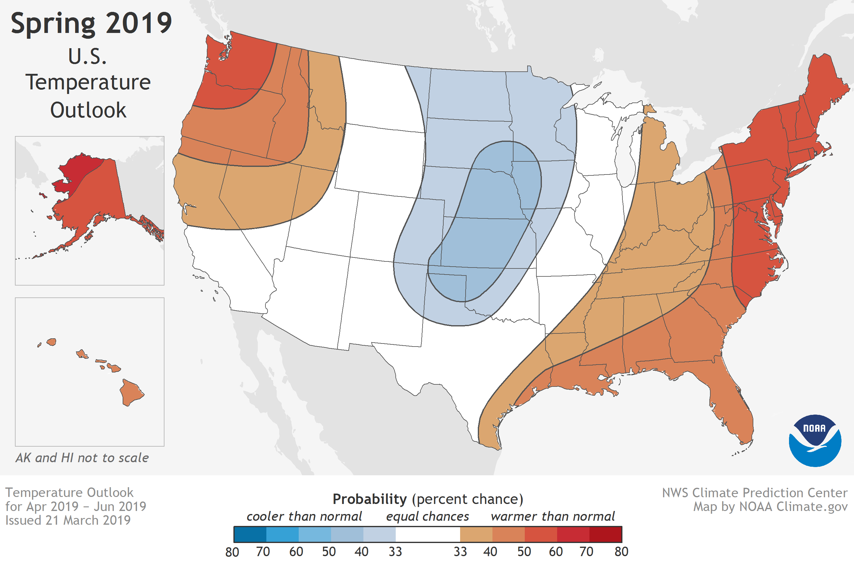 Noaa, climate, spring outlook