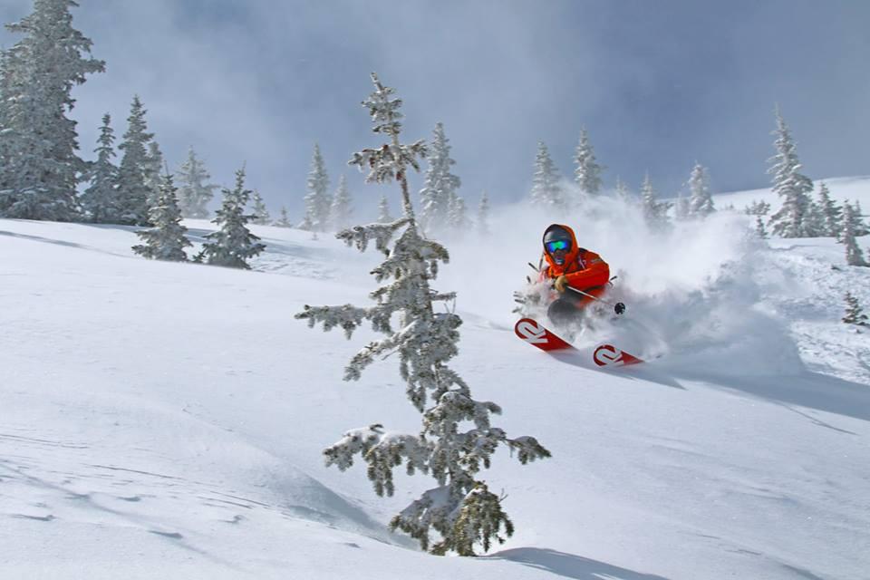 skiing pow, monarch mountain, monarch, colorado