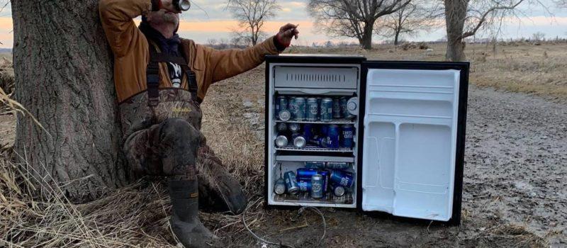 nebraska, fridge full beer