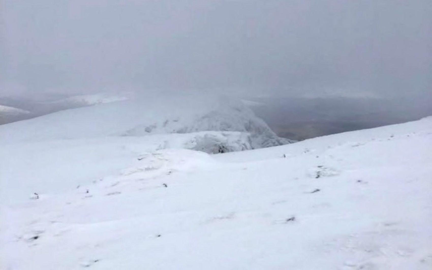 Ben Nevis, scotland, avalanche