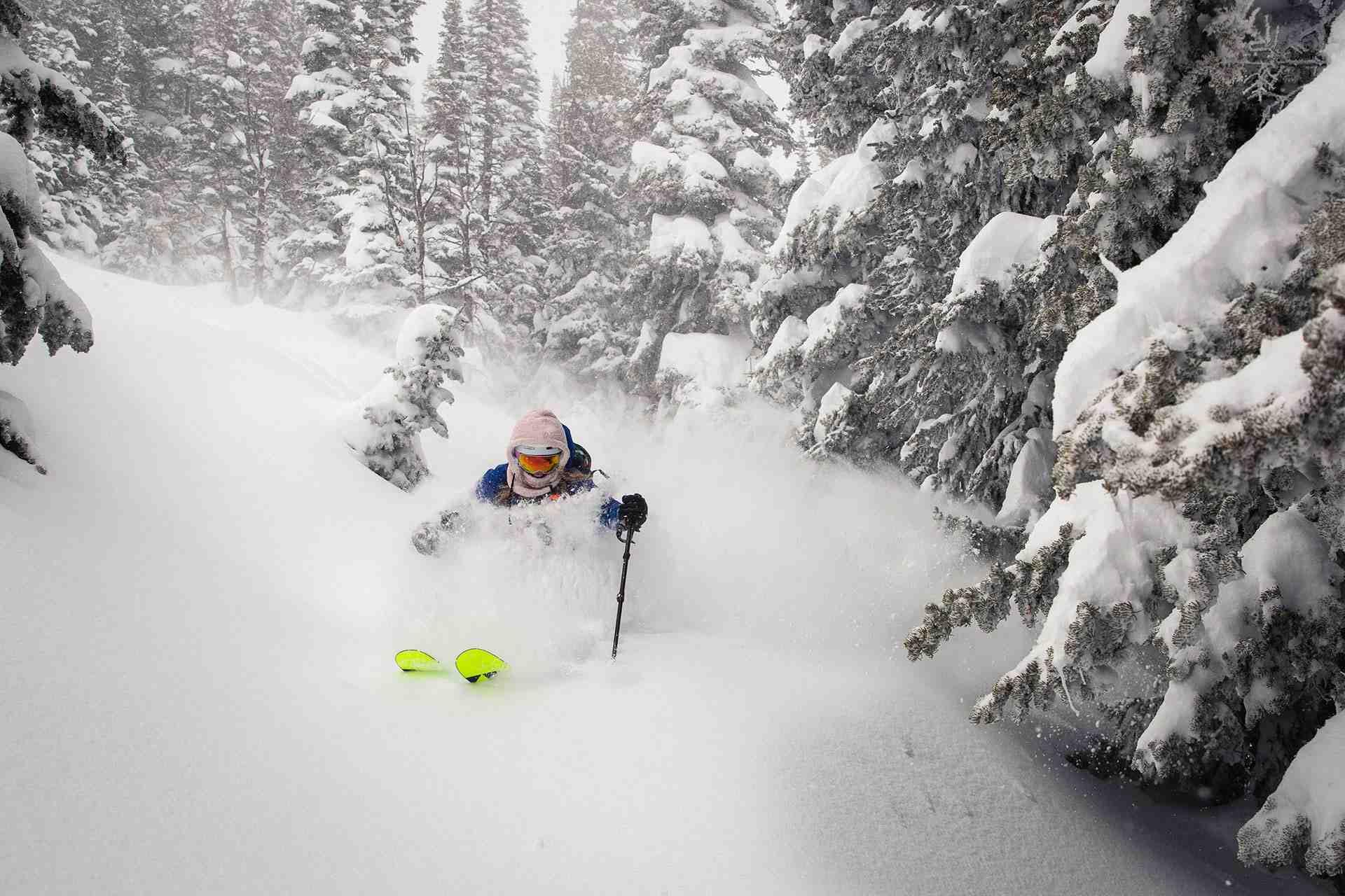 Jackson Hole, record snow, February