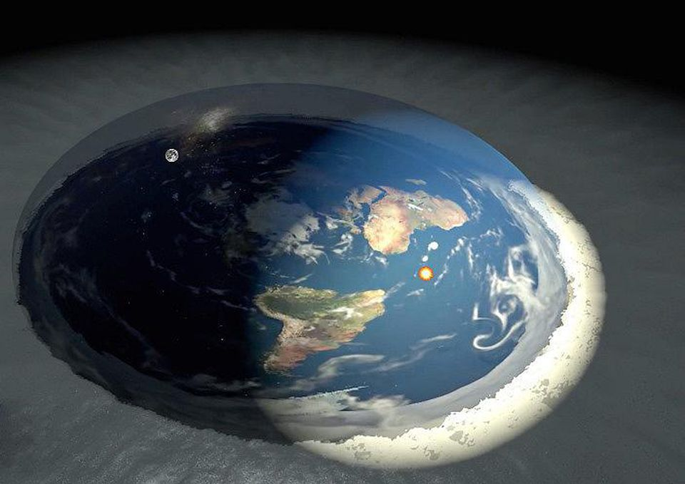 flat earth, Antarctica, expedition