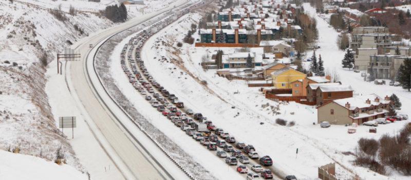I-70, traffic, Colorado