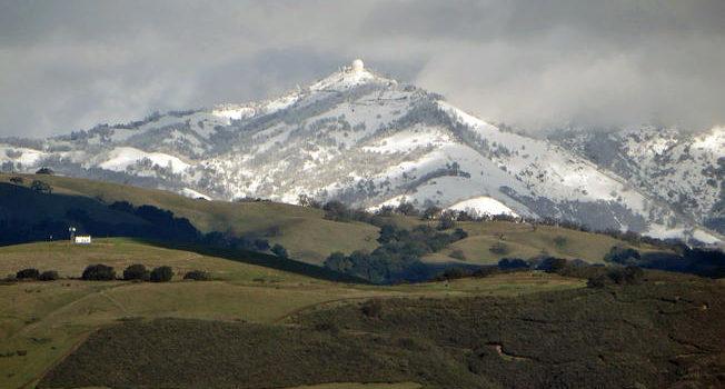 records, Bay Area, San Francisco, Mount Hamilton, record snowfall