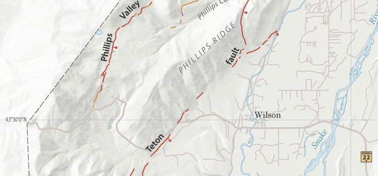 teton, fault line, Jackson hole, wyoming