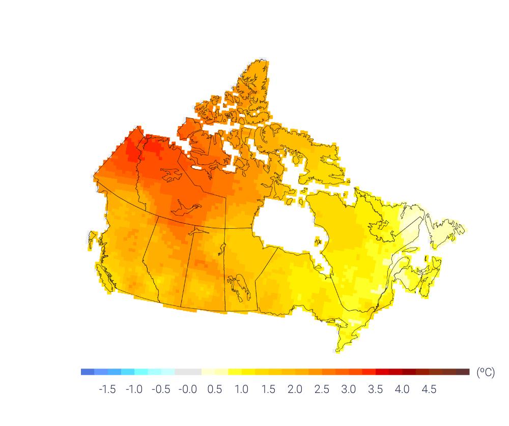 canada, global warming