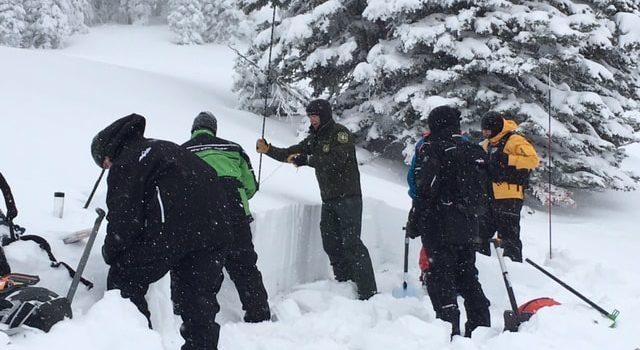 Cooke City, avalanche, Montana