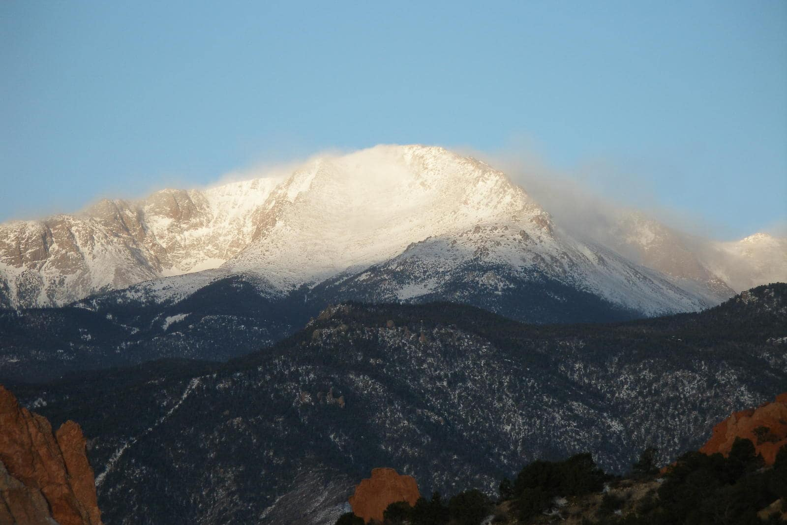 pikes peak, snowboarder killed, colorado