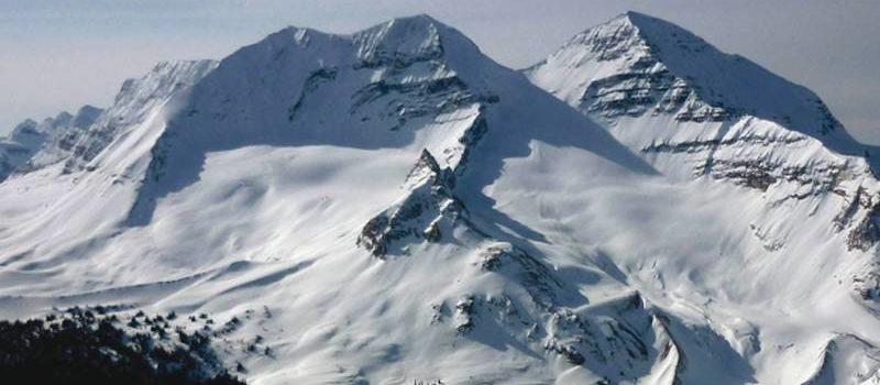 avalanche, alberta, Lake Louise, canada