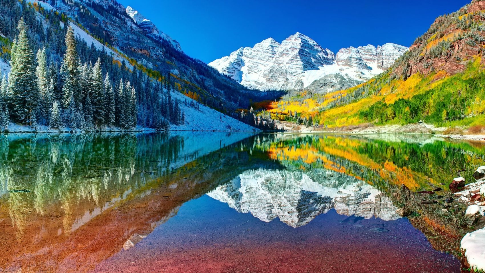 Iconic Maroon Bells Area Aspen Co Will Open A Month Late