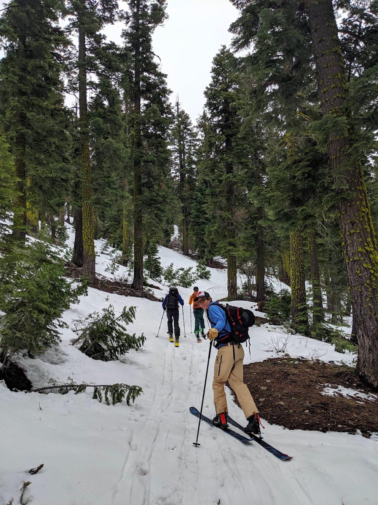 """Lake Tahoe, Backcountry Report: Ripping Fun """"Powder"""" on Fun Terrain"""