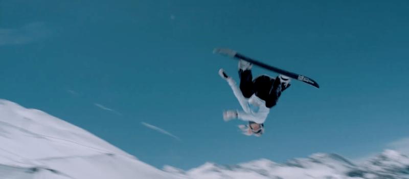Anna Gasser, snowboarder, world's first