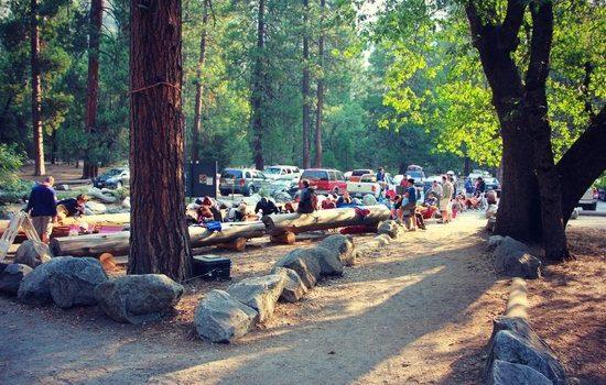 camp 4, Yosemite, lottery, california