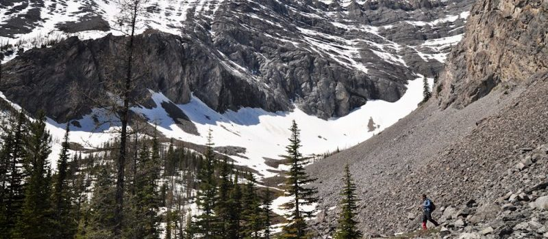 Mount Lawson, Canada, Kananaskis, avalanche