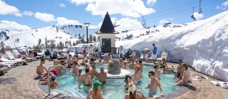 Squaw Valley, California, hot tub,