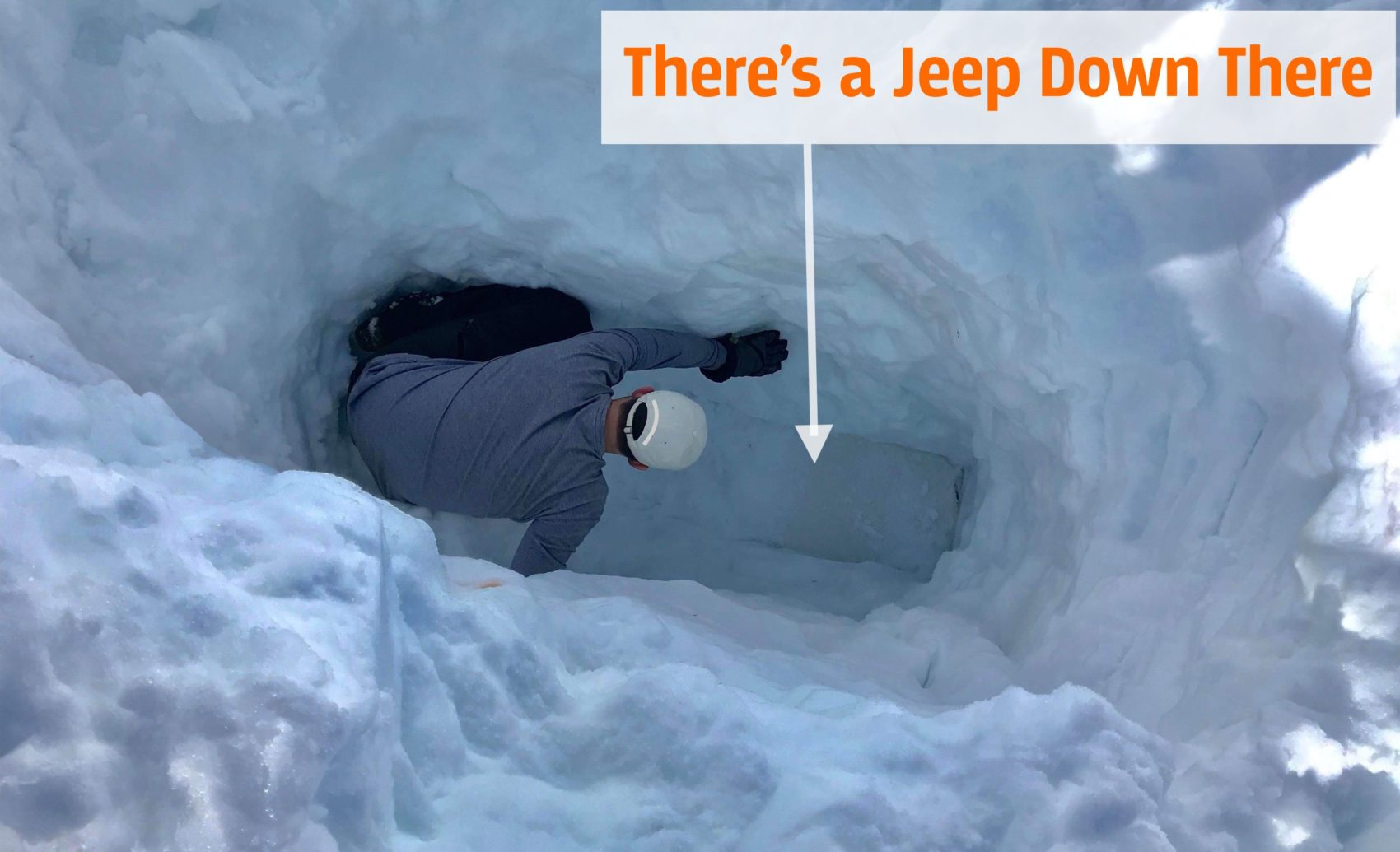 Lake Tahoe Guy Digs Out Jeep Buried Beneath 10-Feet of ...