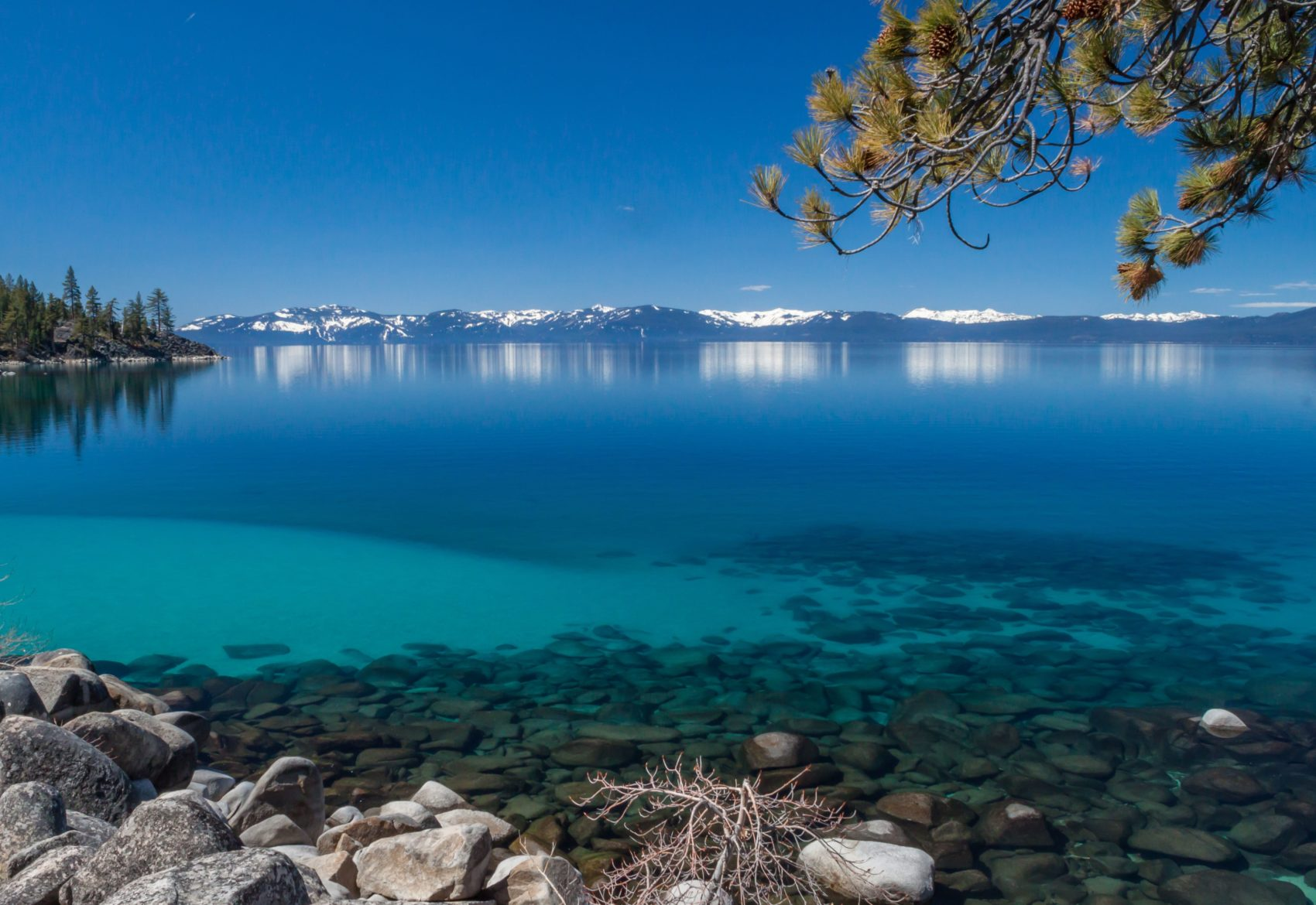 High Water Causes Some South Shore Lake Tahoe, CA Beaches to