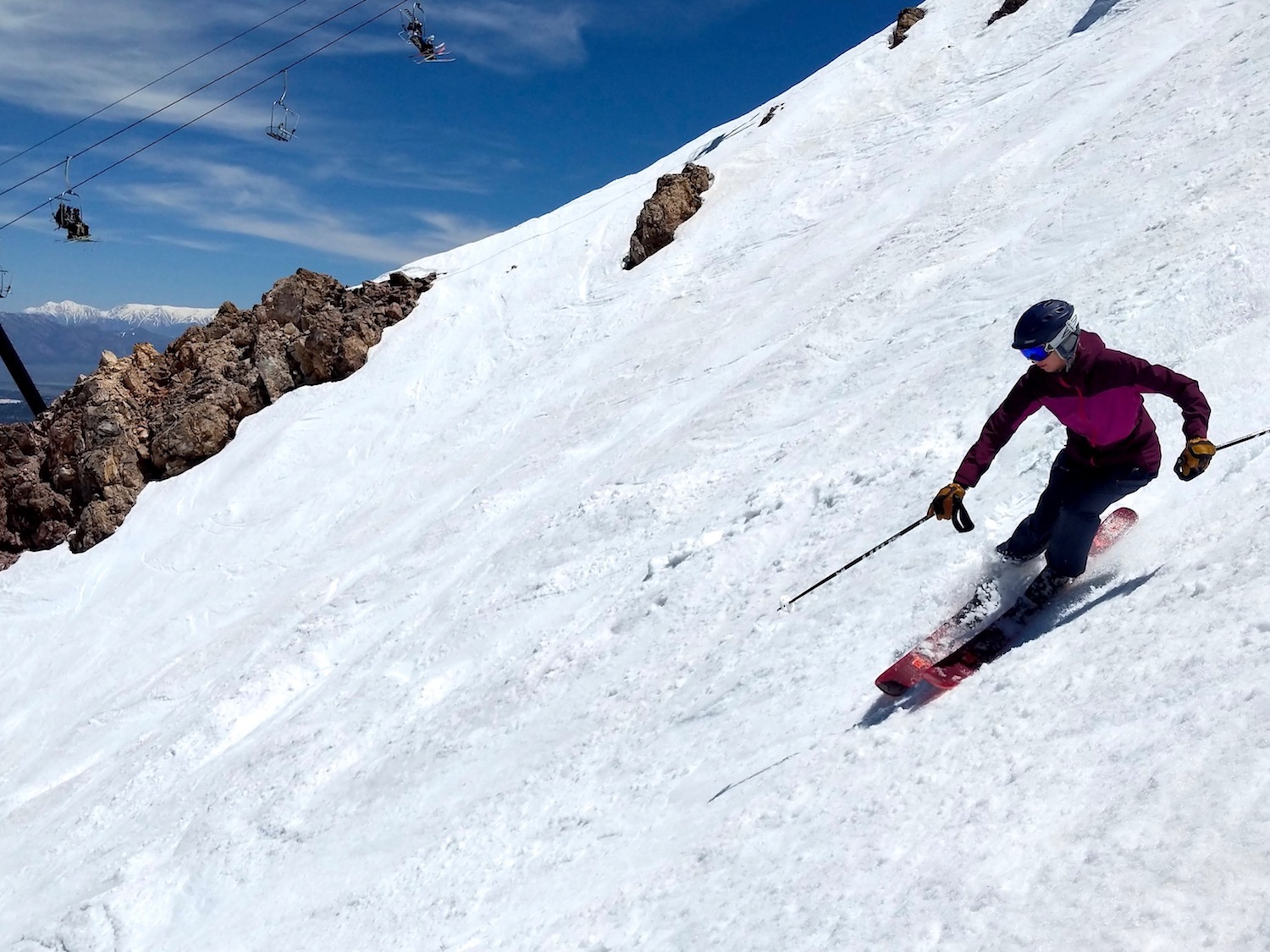 Mammoth Mountain, CA Report: There Is SO Much Snow Here Right Now!