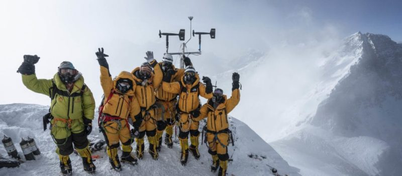 everest, weather station,