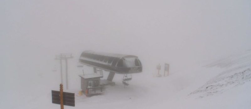 canada, Banff, snowfall warning, alberta