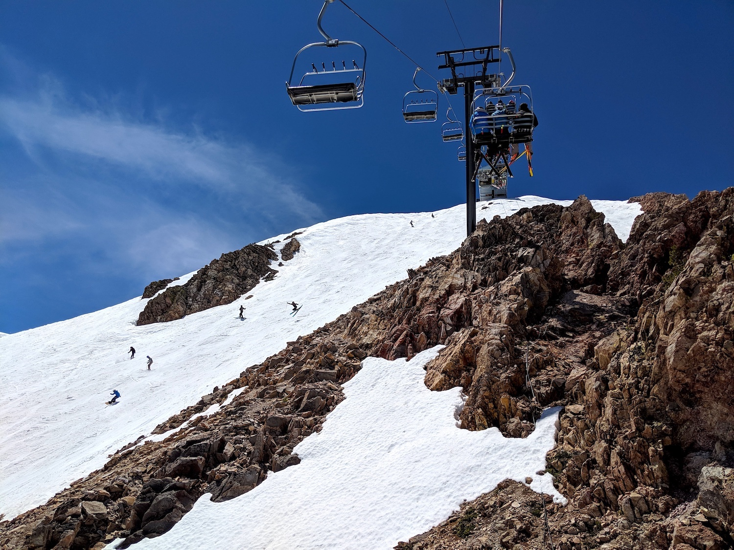 Mammoth Mountain, CA Report: There Is SO Much Snow Here ...