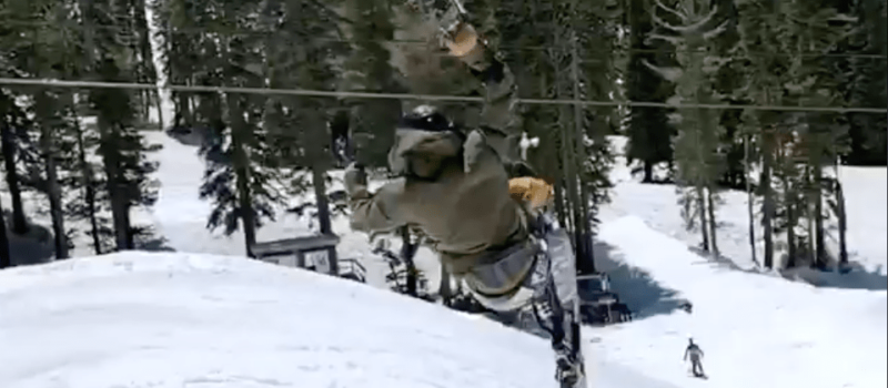 Jay Rawe, sit-ski, boreal, california