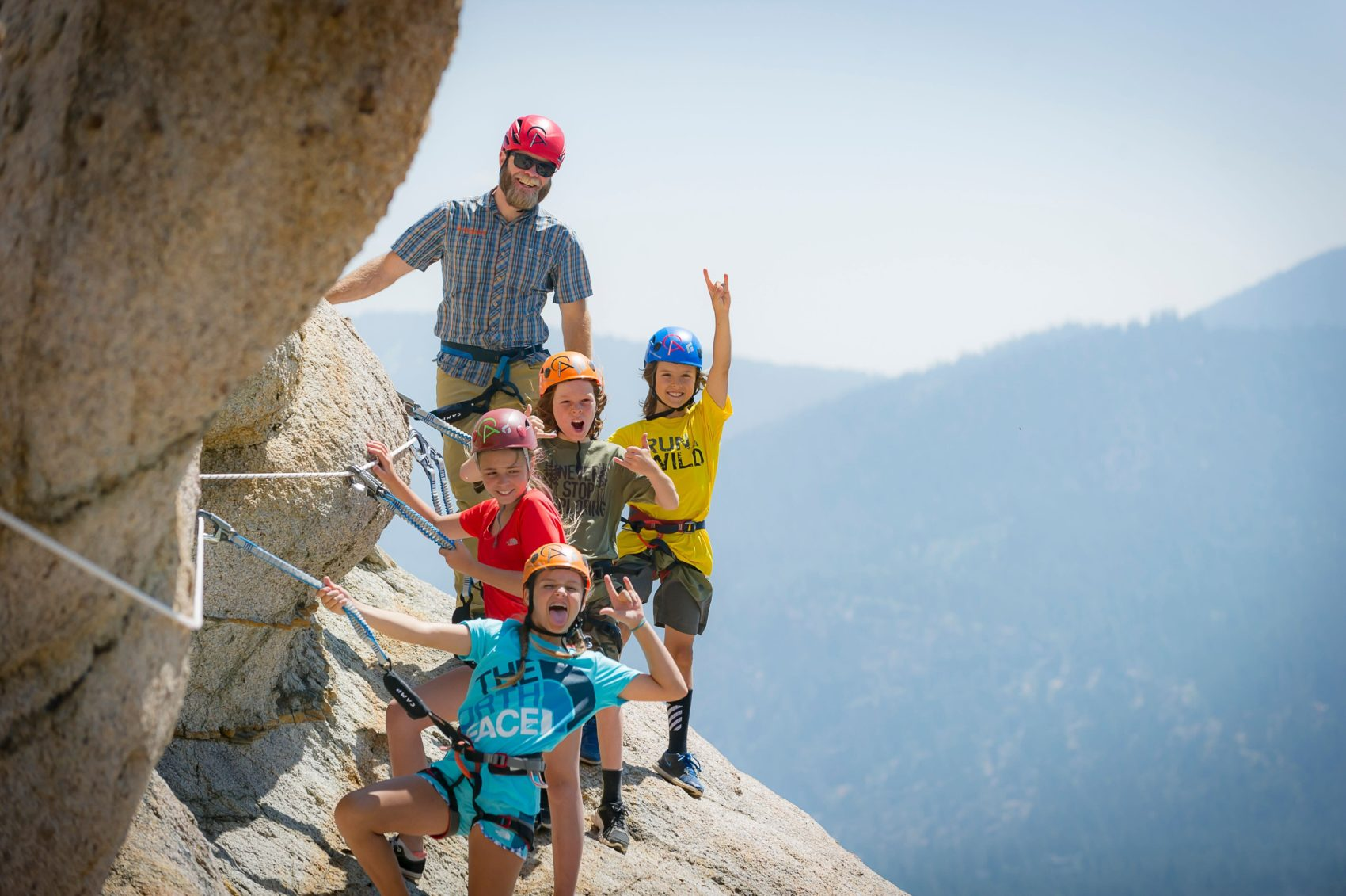 Alpenglow Expeditions, Via Ferrata, Squaw Valley, tram face, california