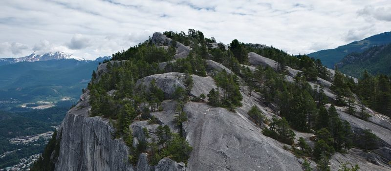 Stawamus Chief, Squamish, Canada, British Columbia, climber fell