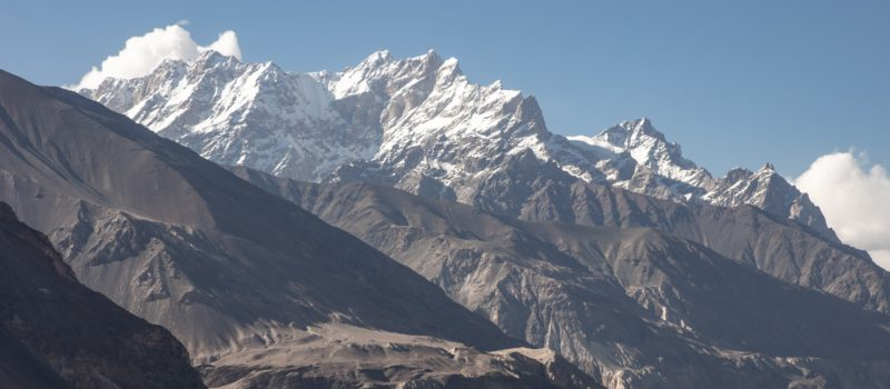 Ishkoman valley, Pakistan, avalanche