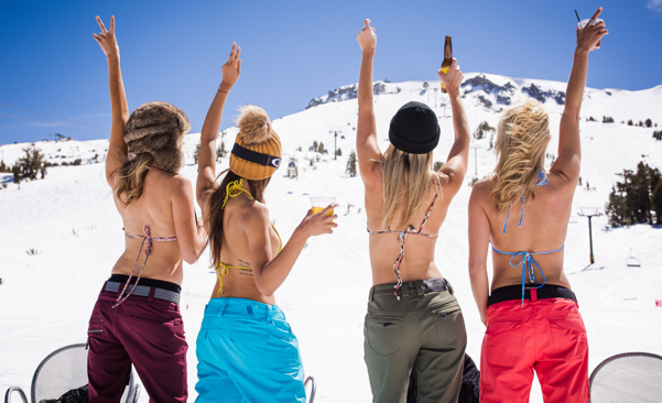 Mammoth mountain girls