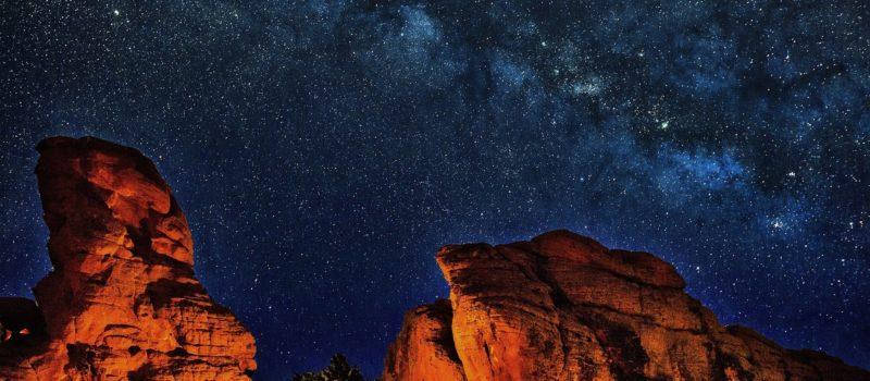 Grand Canyon, dark sky, Arizona, Milky Way