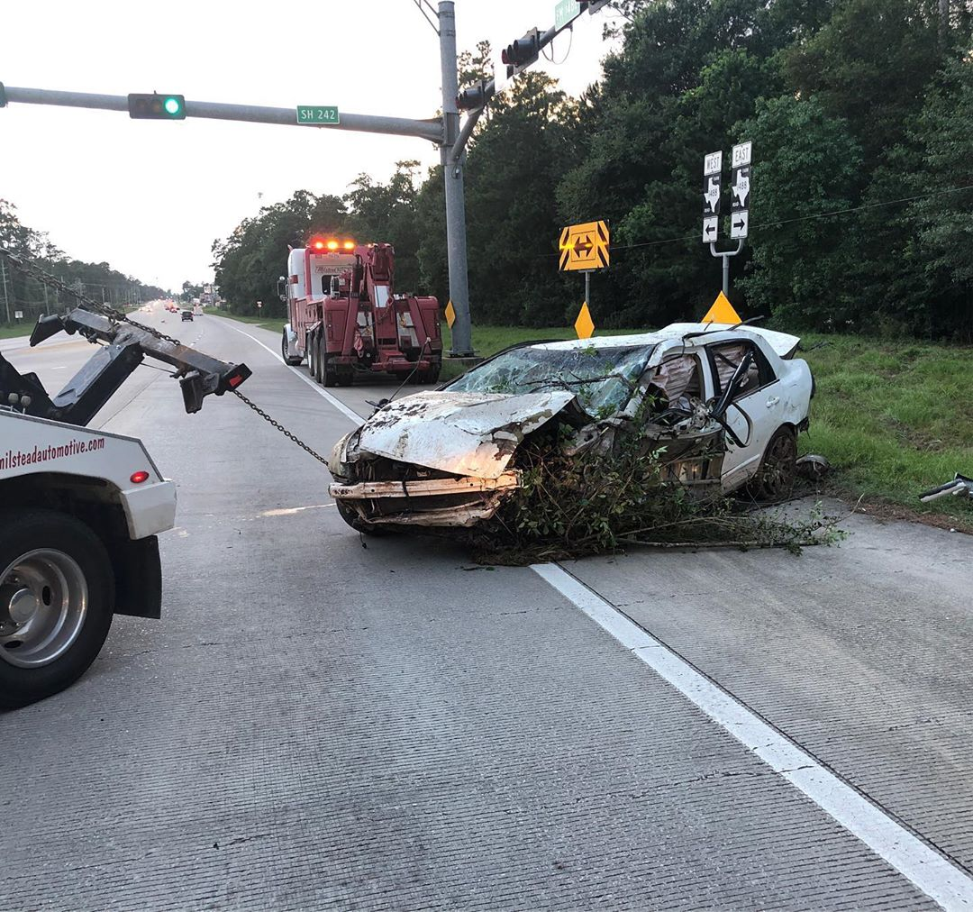 Texas Man Survives 5-Days Trapped In Wrecked Car After