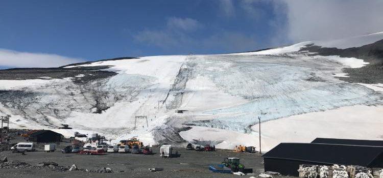 Norway, glacier, closed early