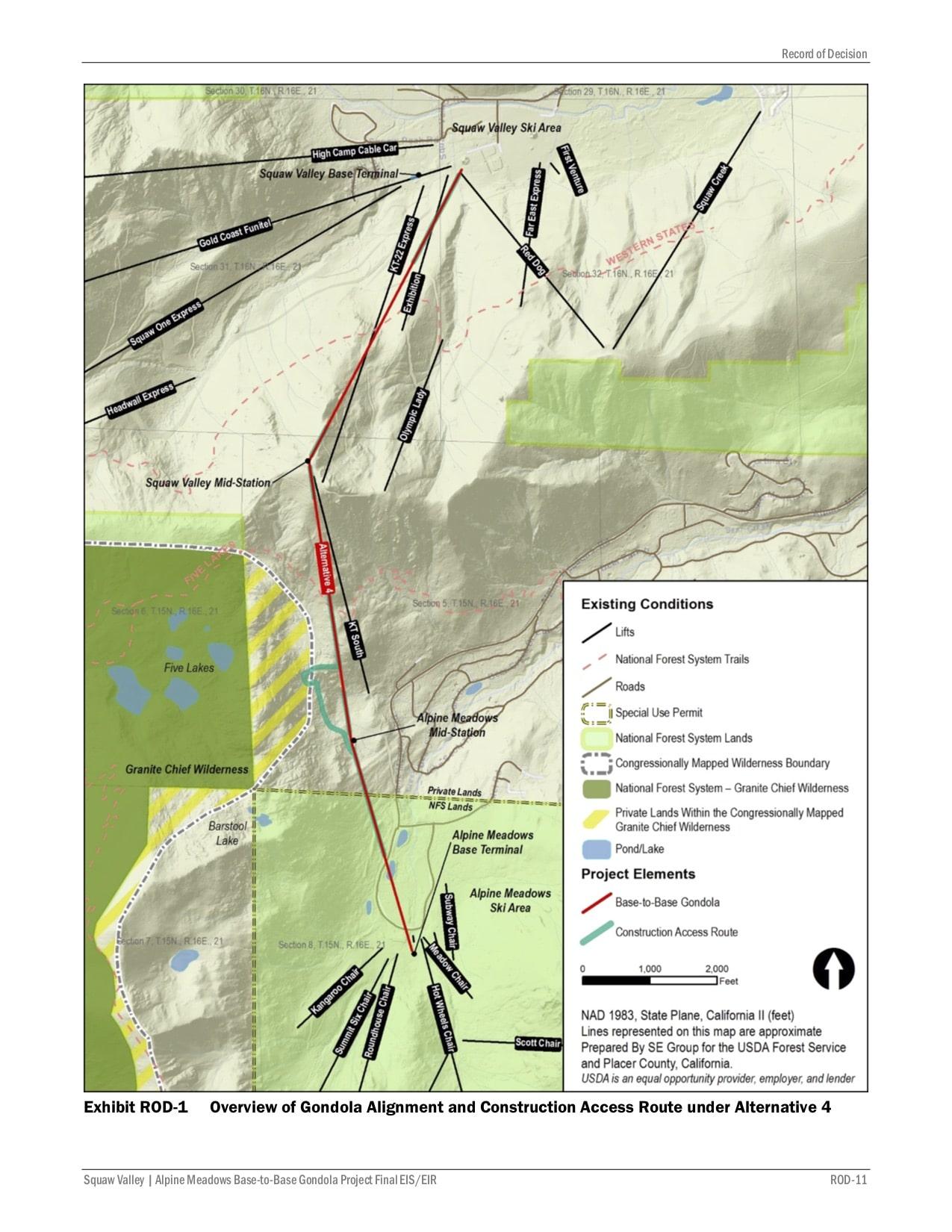base-to-base, Squaw Valley, alpine meadows, California, gondola