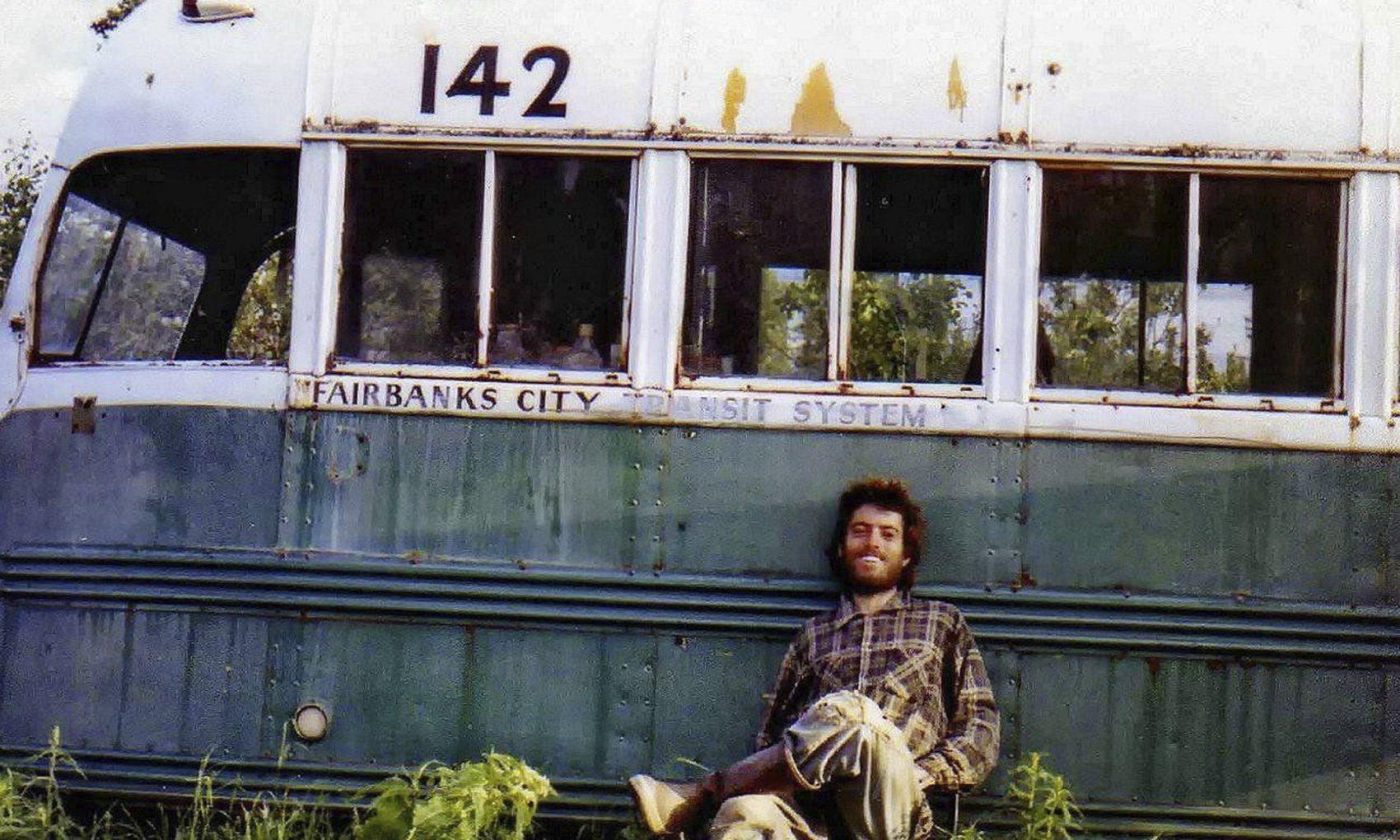 into the wild, bus, Alaska,