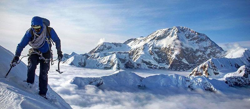 mountaineer, summit, high altitude