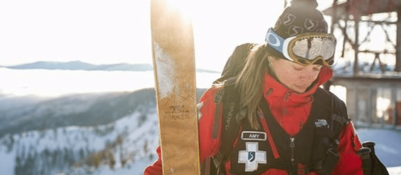 squaw, Squaw Valley, california, patroller, cancer, Amy Holland