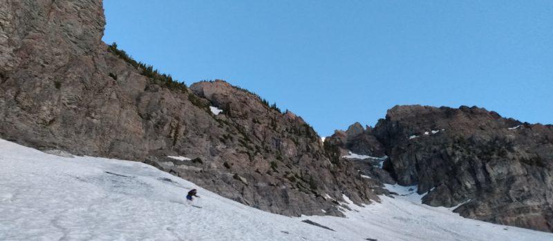 eamon skiing the apron
