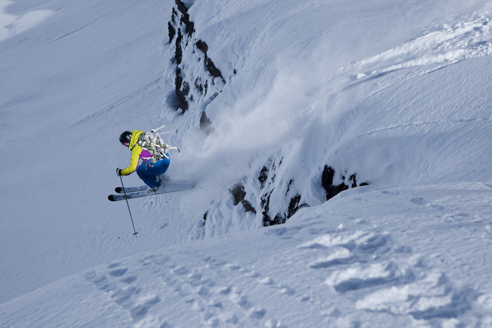 Professional Big Mountain Skier Ingrid Backstrom