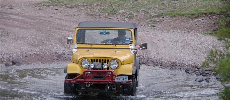 silverton, swept away, woman, jeep, colorado