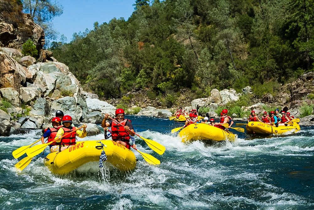 American River, california