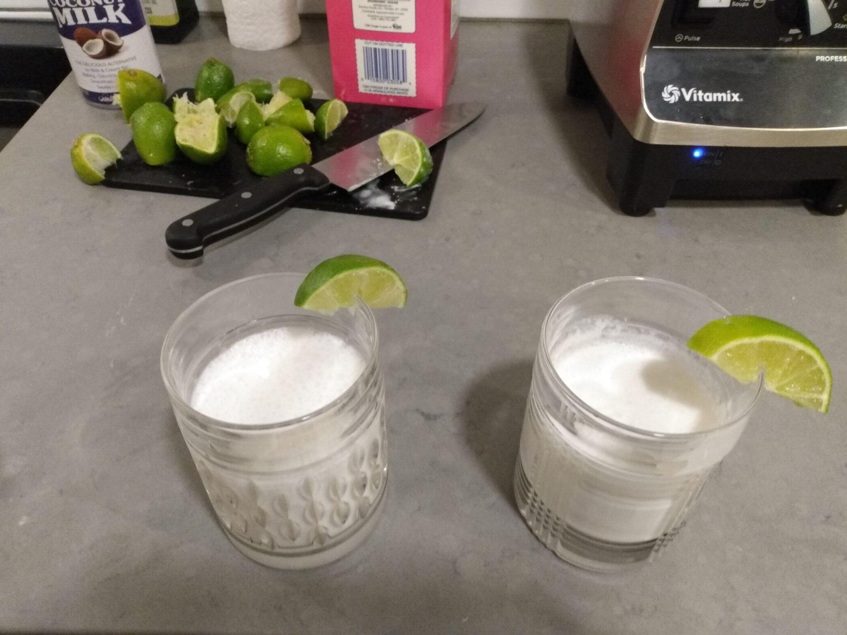 limonada de coco recipe