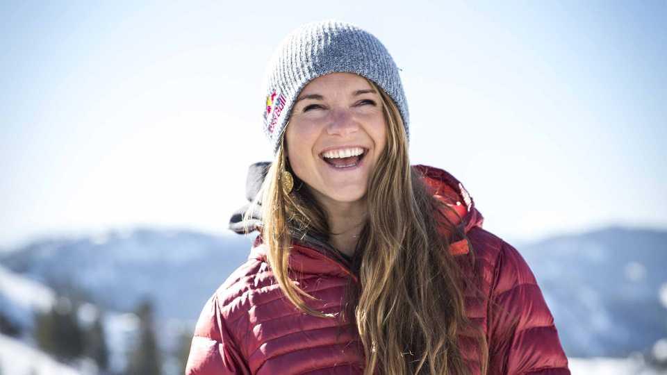 Professional skier Michelle Parker