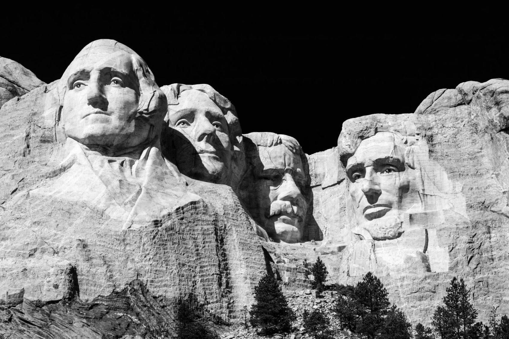 Mount Rushmore, south Dakota,