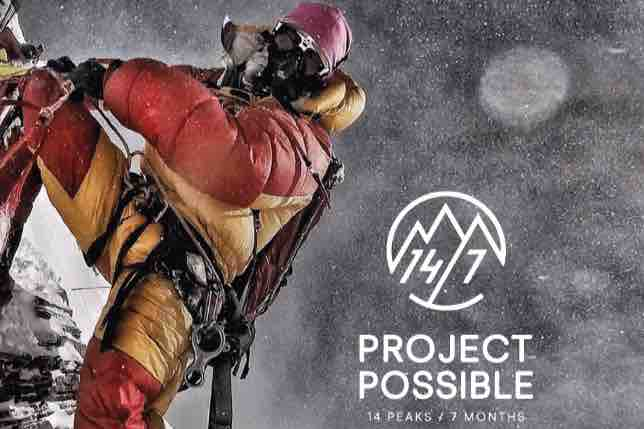 Nims Project Possible, the ultimate climbing edition