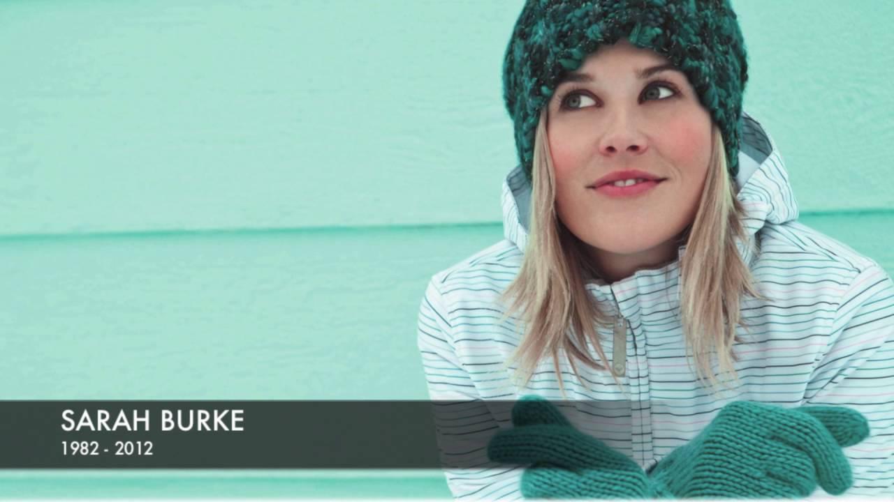 Professional skier Sarah Jean Burke