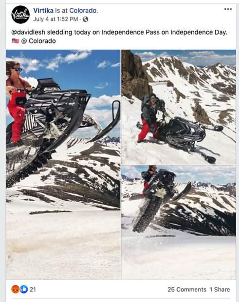 snowmobiler, aspen, colorado, snowmobiling
