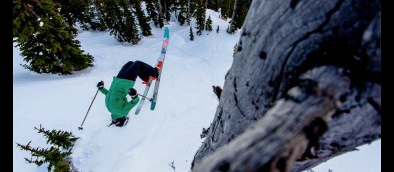 Professional backcountry skier Tatum Monod