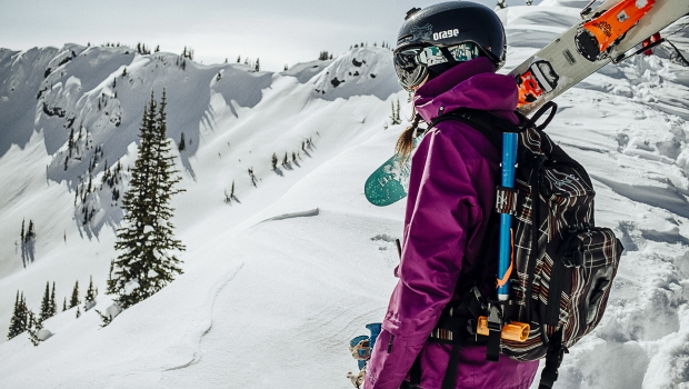 Tatum Monod professional big mountain skier