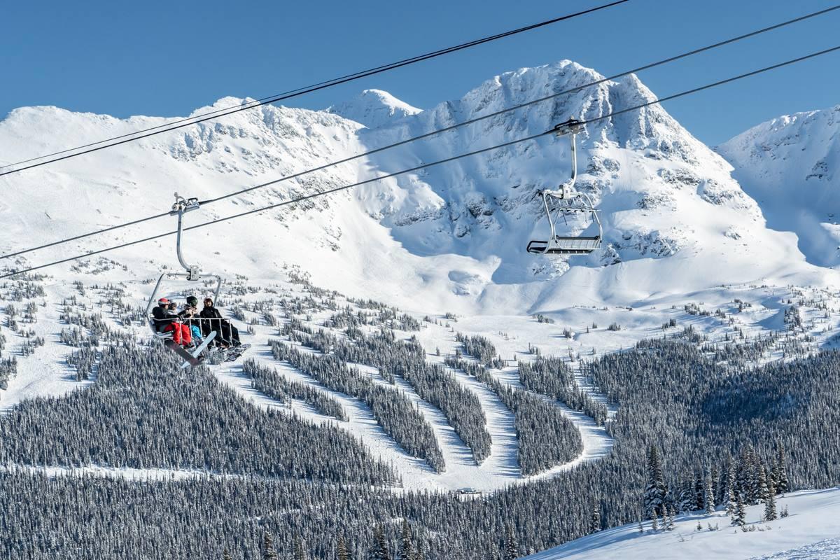 Whistler Blackcomb biggest Ski resort